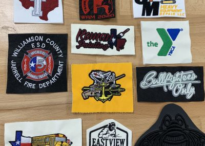 Embroidered Logo Swatches