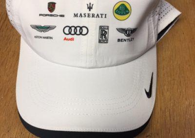 Custom White Embroidered Cap