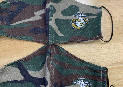 Camo Masks with Logo