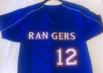 Rangers Sports Team Uniform