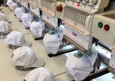 Custom Embroidery Cap Machine