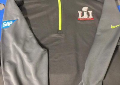 Branded Logo Jacket Superbowl