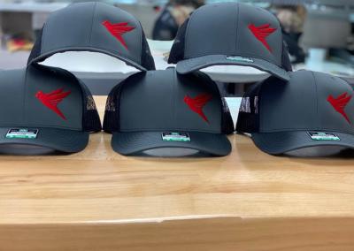 Custom logo embroidered hats caps